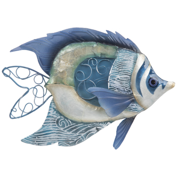 Fish Metal Wall Decor