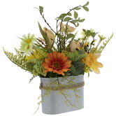 Orange & Yellow Flower Arrangement