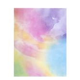 "Watercolor Scrapbook Paper - 8 1/2"" x 11"""