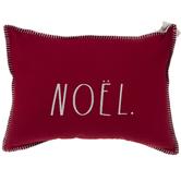 Red & White Noel Pillow