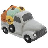Pumpkin Truck Cookie Jar