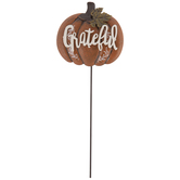 Grateful Pumpkin Metal Pick