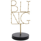 Bling Wire Metal Jewelry Holder