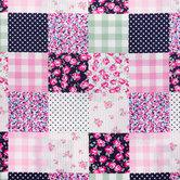 Preppy Patch Cotton Calico Fabric