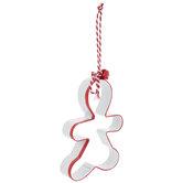 Gingerbread Man Cookie Cutter Ornament