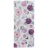 Mauve Floral Tissue Paper