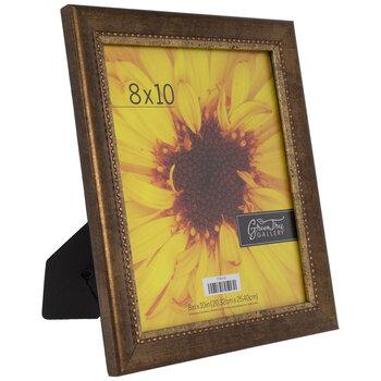 "Bronze Beaded Trim Frame - 8"" x 10"""