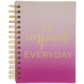 Be Inspired Everyday Notebook