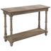 Whitewash Wood Console Table