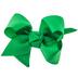 Emerald Green Grosgrain Bow Clip