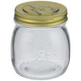 Round Glass Mason Jar - 8 Ounce