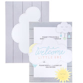 Welcome Little One Baby Shower Invitations