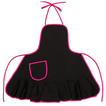 Adult Apron with Ruffle Trim
