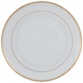 White & Gold Plate