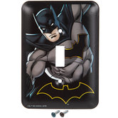 Batman Single Switch Plate