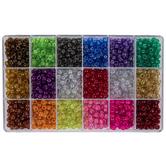 Sparkle Plastic Bead Box