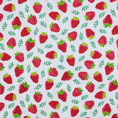 Strawberry Duck Cloth Fabric