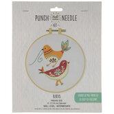 Birds Punch Needle Kit