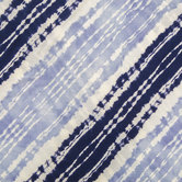 Blue Shibori Knit Fabric