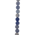 Blue Aventurine Bead Strand - 6mm