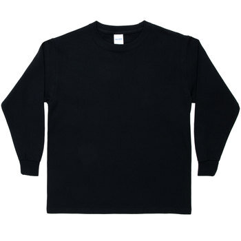 Black Youth Long Sleeve T-Shirt - XL