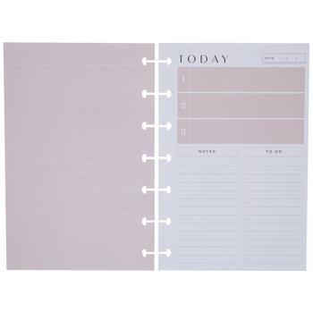 Minimalist Half-Sheet Happy Planner Paper