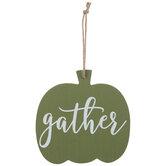 Gather Pumpkin Ornament