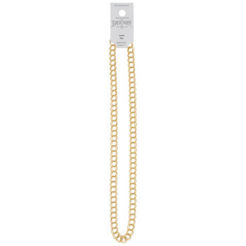 Parallel Curb Chain Necklace