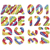Marshmallow Alphabet Stickers