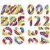 Marshmallow Alphabet Stickers