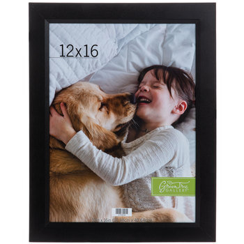 "Black Wood Wall Frame - 12"" x 16"""