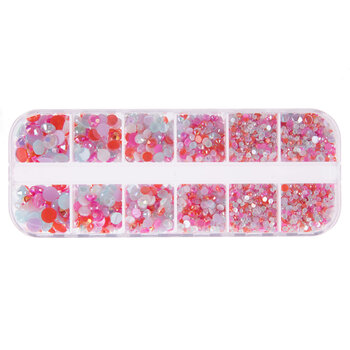 Cotton Candy Faceted Rhinestones