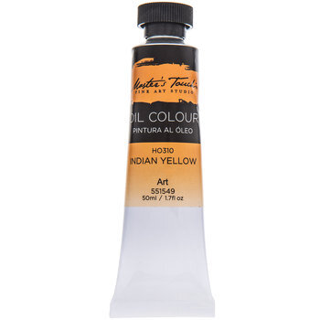 Indian Yellow Master's Touch Oil Paint - 1.7 Ounce