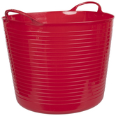 Red Container With Handles - Large
