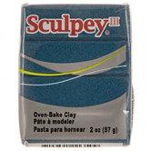 Navy Pearl Sculpey III Clay - 2 Ounce