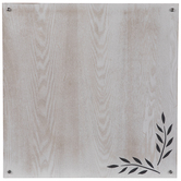 Leaf Wood Dry Erase Board