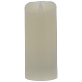 Cream LED Pillar Candle