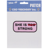 She Is Strong Iron-On Applique