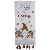 There's No Place Like Gnome Kitchen Towel