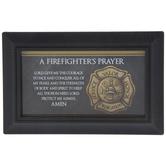 Firefighter's Prayer Framed Decor