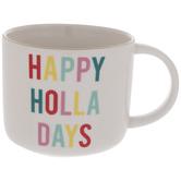 Happy Holla Days Mug