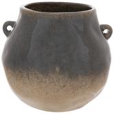 Black & Tan Two Tone Vase
