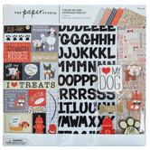 "I Heart My Dog Scrapbook Kit - 12"" x 12"""
