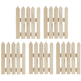 Miniature Picket Fence Sections