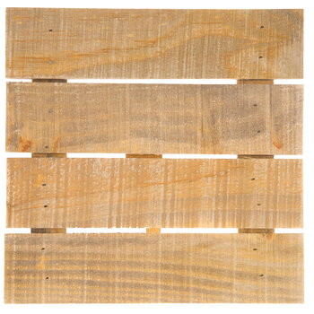 Slatted Pine Wood Panel with Easel Back