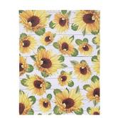 "White Wood & Sunflowers Scrapbook Paper - 8 1/2"" x 11"""