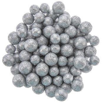 Silver Glitter Ball Filler