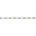 Bright Polka Dot Grosgrain Ribbon - 3/8