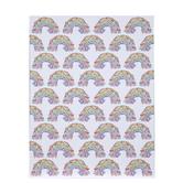 """Floral Rainbows Paper - 8 1/2"""" x 11"""""""
