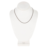 Flat Link Chain Necklace - 18""